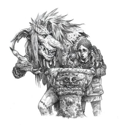 Zaria and Olaf