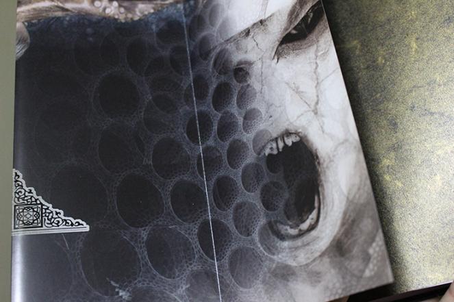 Inside flap of Blumhouse Book of Nightmare. Copyright Creatyvebooks.com