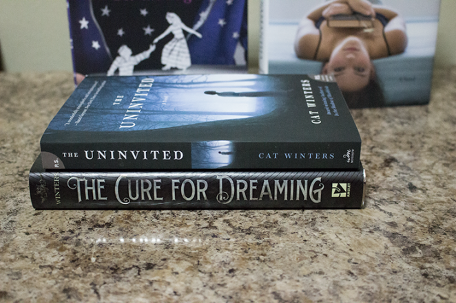 My Cat Winters book purchase. Copyright Creatyvebooks.com